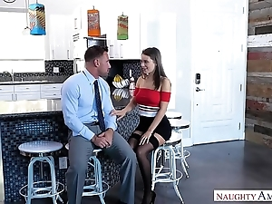 Slutty wife lana rhoades copulates husbands aide-de-camp