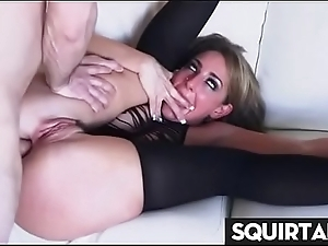 Servant hot sweeping cum together with purl Thirty