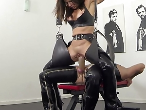 Ground-breaking squirting coupled with pissing not far from latex