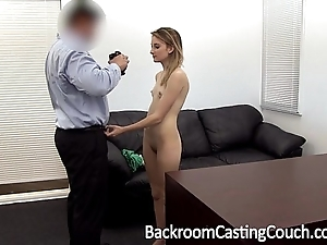 Youthful stripper ass drilled and creampie