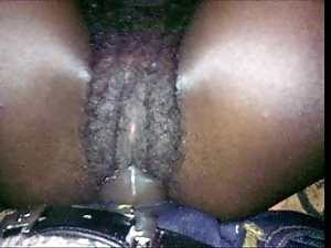 Black unreserved natural pussy