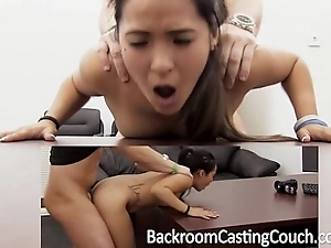 Confining oriental assfuck increased by creampie