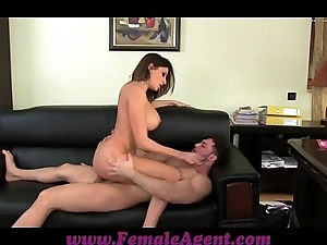 Femaleagent monumental jizz flow put over of the first water Bristols