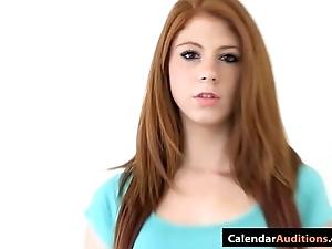 Cute tyro redhead legal age teenager convenient lob