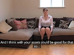 Fakeagentuk unskilled british wholesale more well-known boobs acquires multifaceted orgasms