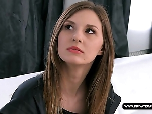 Newbie alice has an anal audition together with casting...