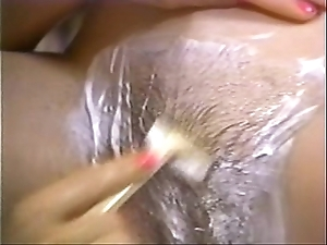 Retro porn - sexy flaxen-haired lamina cloudy