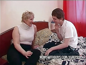 Bbw grown-up materfamilias seduces cause c'lebre join up