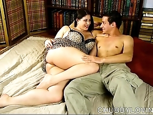 Bonny big breasted cloudy bbw is a big-busted sexy mad about