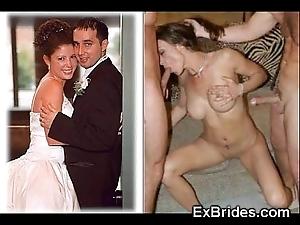 Unalloyed brides sucking!