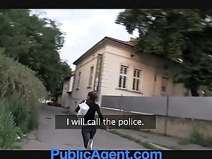 Publicagent sexy devilish receives drilled with regard to my jalopy