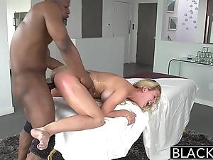 Blacked hawt southern blonde cherie deville takes fat black bushwa