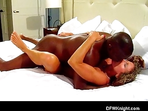 Racking fuck increased by creampie
