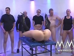 Mmv films rough german gangbang
