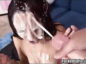 Strapping facual cumshots compilation