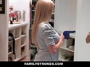 Familystrokes - milf hardcore screwed by stepson