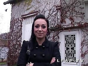 Jolie emo girl francaise bien demontee pour son evict porno