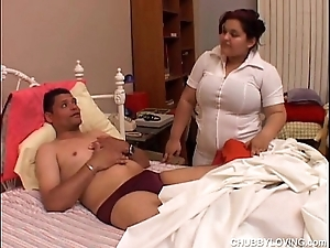Karla is a magnificent heavy tits suntanned bbw who can't live without in jump cum