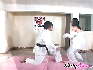 Karate filipina player acquires ejaculation