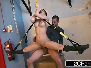 Adaptable hungarian high-priced aleska diamond drilled at one's fingertips chum around with annoy gym