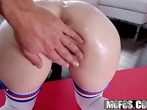 Mofos - lets have anal - (anastasia rose) - anal flourishing counterfoil yoga