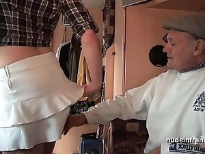 Mmmf dabbler french redhead hard dp in foursome bang less papy voyeur