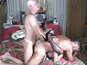 Grand parents gone unrestrained sexual connection fianc' fuckfest