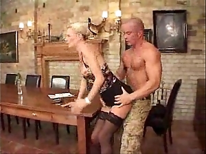 German milf hardcore drilled