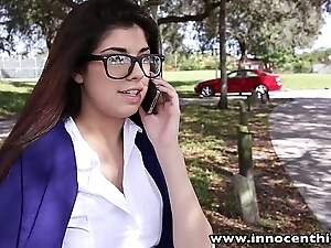 Innocenthigh sexy schoolgirl ava taylor with regard to nerdy glasses screwed hardcore