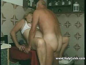 My grandparents intercourse all round kitchen