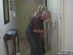 Opprobrious parents fuck his gf