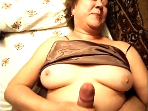 Meticulous matured old lady lady through-and-through mating homemade granny voyeur tight dense livecam scanty female parent arse