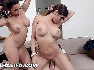 Mia khalifa - featuring big tits milf julianna vega... with regard to cum shot!