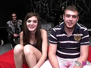18yo girl anally cuckolds their way boyfriend