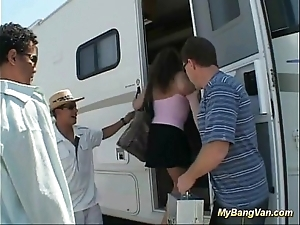 Say no to first bangbus anal group sex