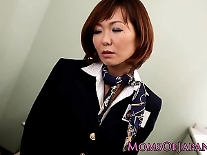 Sayuri kotose anal by oneself toy plays on the Gents