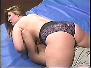 Big boobed bbw mixed wrestling pt 2