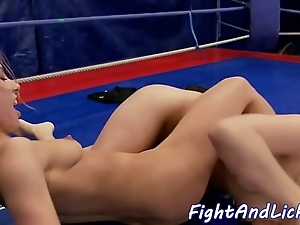 Pussylicking spoil wrestling in a dialect knoll