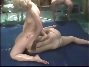 Beauties suborn wrestling pt 01