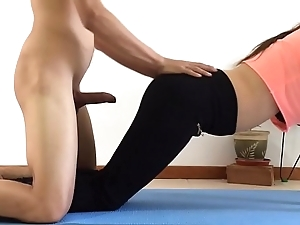 I drilled my suckle for ages c in depth this babe was mode yoga